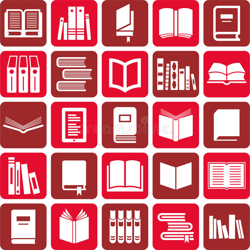 Download Books icons stock vector. Illustration of dictionary - 29224836