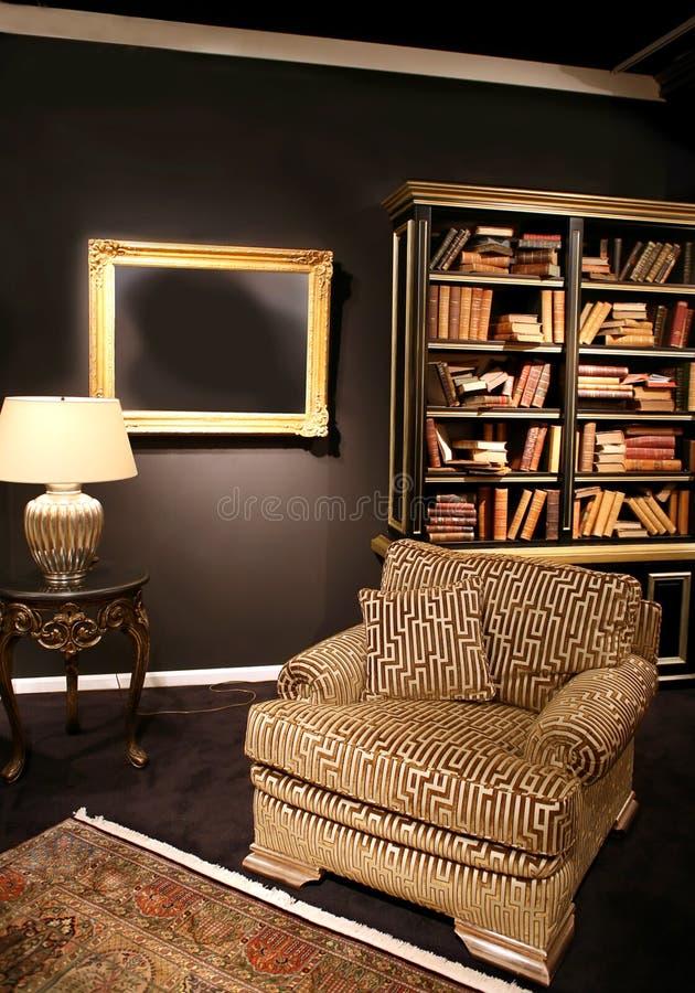 books interioren arkivbilder