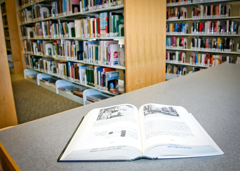 Books At Library Editorial Image