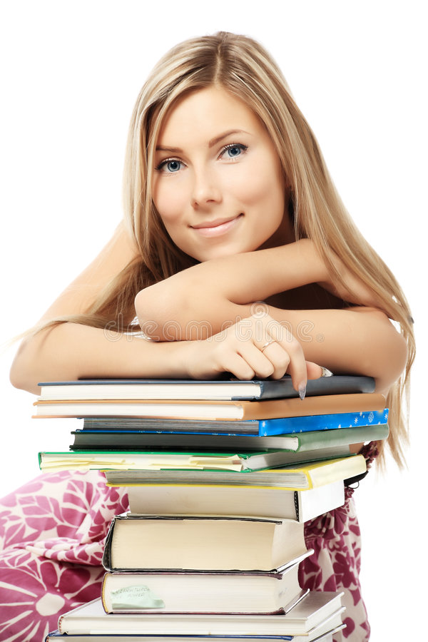 Download Books Lover Stock Image - Image: 8194261