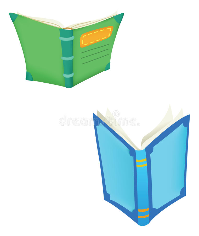 Download Books open stock vector. Illustration of novel, pages - 18274049