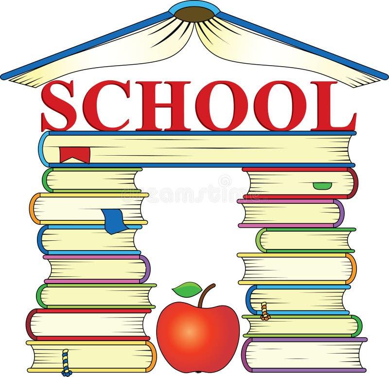 Download Books stock vector. Image of school, apple, study, vector - 30449700