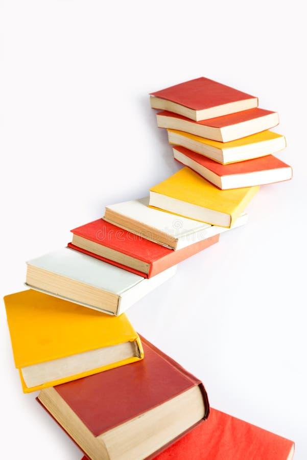Free Books Queue Dumping Stock Image - 35501171