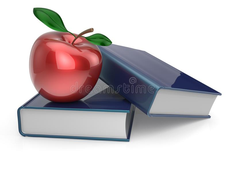 Books Red Apple Education Studying Textbook Reading ...