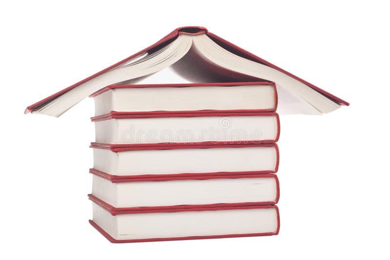 Books Shaped Like A House Stock Photography