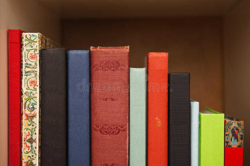 Download Books On A Shelf Royalty Free Stock Image - Image: 20794376