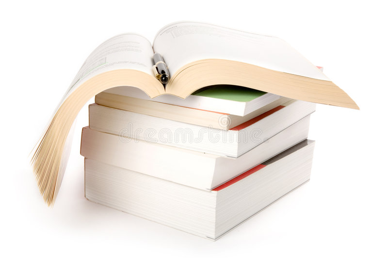 Download Books Stack stock image. Image of pile, library, studying - 2444639