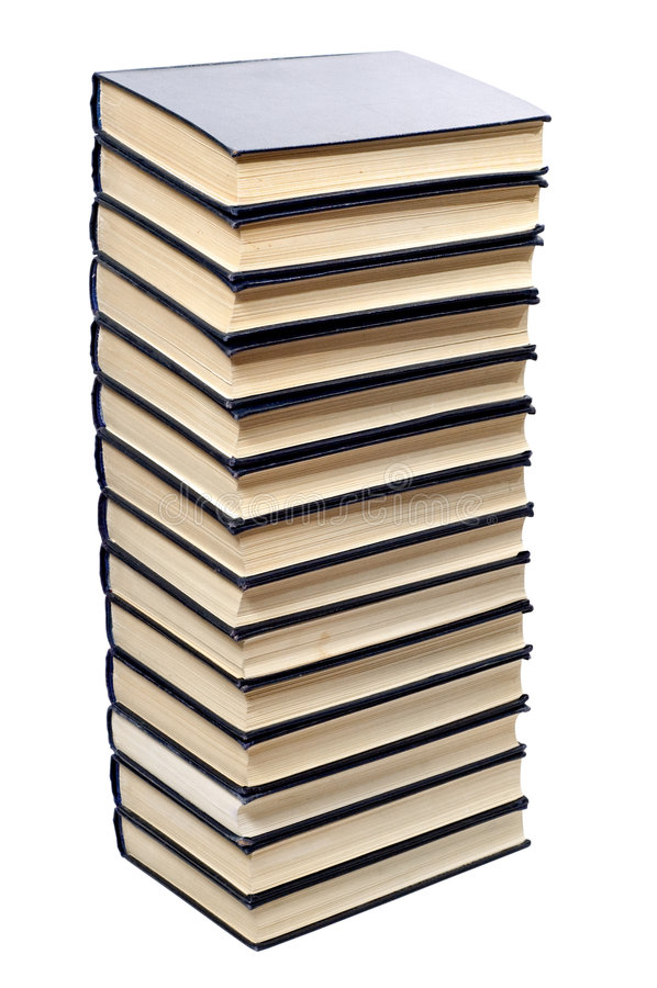 Free Books Stack Royalty Free Stock Photography - 8197247