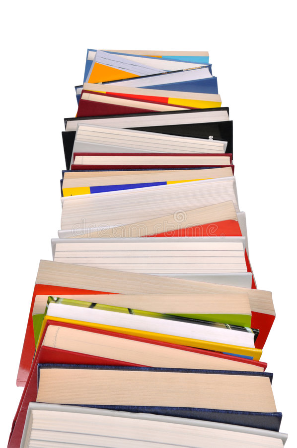 Download Books Stack Stock Image - Image: 8354981