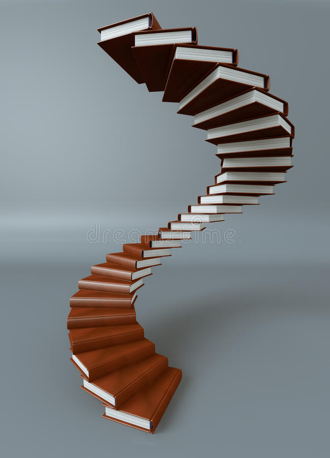 Download Books Stair Stock Photography - Image: 25465342