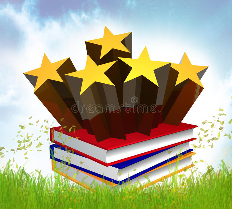 Download Books About Stars Idol And Celebrity Stock Illustration - Image: 14148870