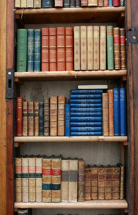 books tappning royaltyfri fotografi