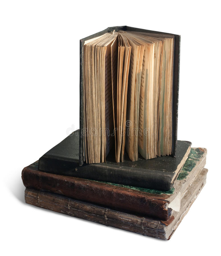 books tappning royaltyfria bilder