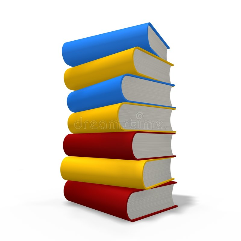 Download Books Tower Stock Images - Image: 4339004