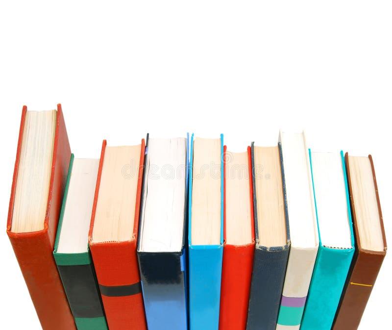 books utbildning royaltyfri foto