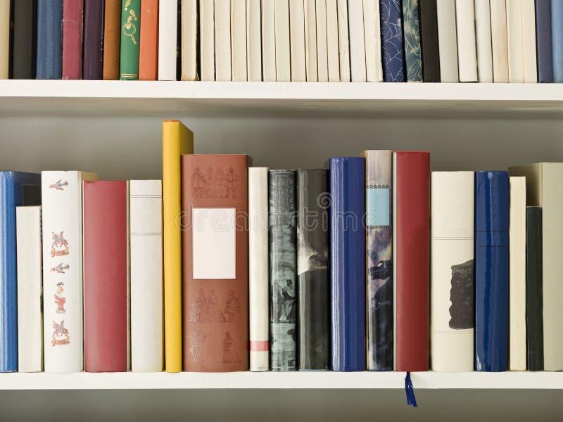 Bookshelf stock photos