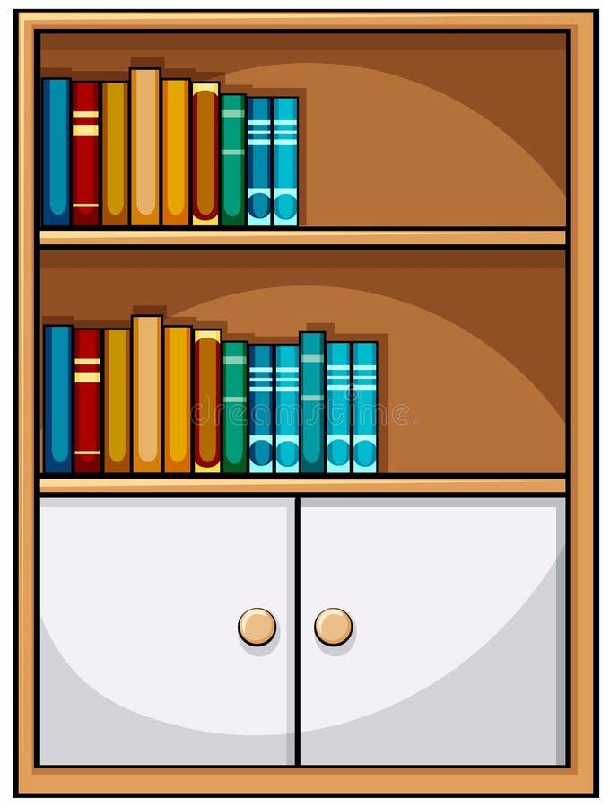 Free Bookshelf Royalty Free Stock Photos - 51959878