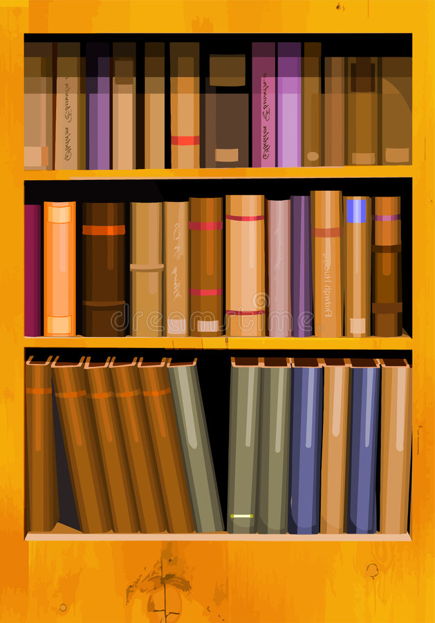 Download Bookshelf Stock Photos - Image: 8243043
