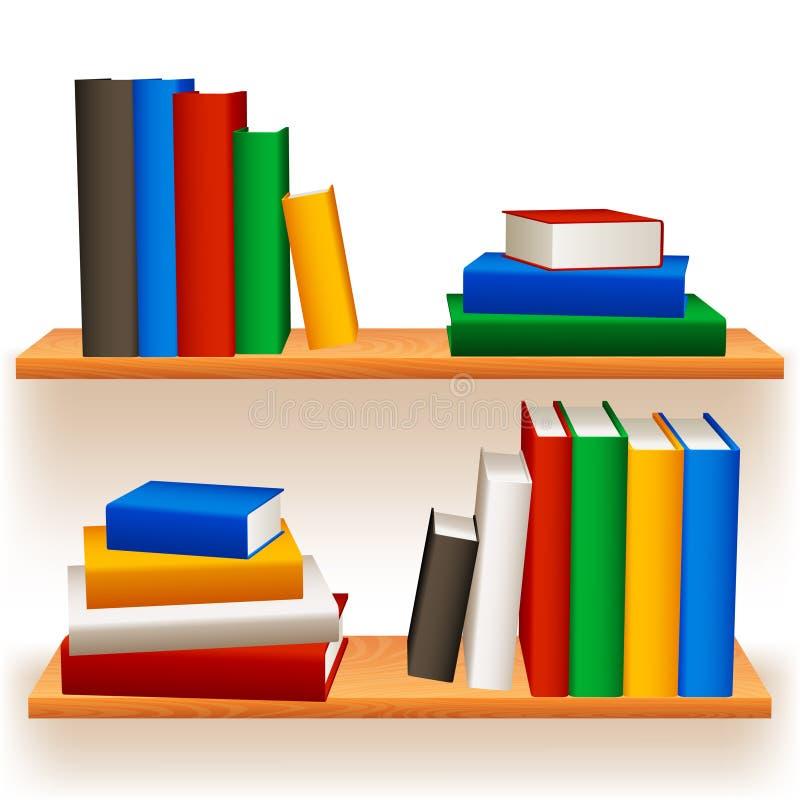 Download Bookshelves. stock vector. Illustration of dimensional - 24089778