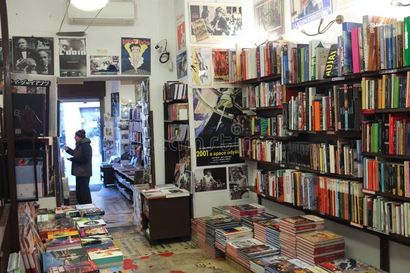 Bookstore в Рим стоковые фото