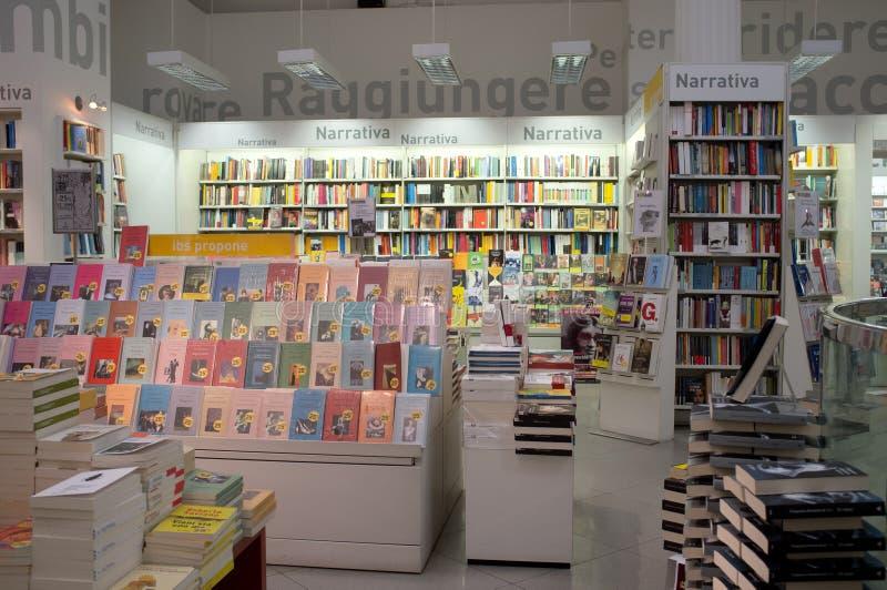 Bookstore в Рим стоковое фото rf