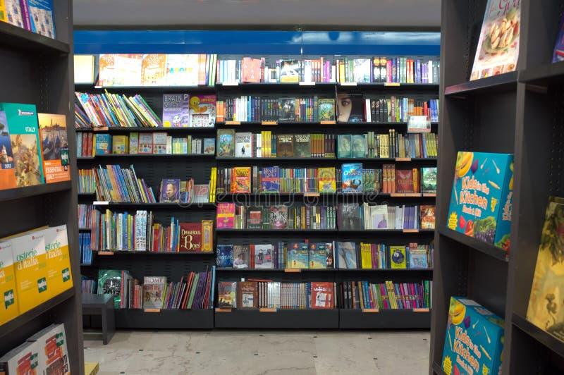 Bookstore в Рим стоковая фотография