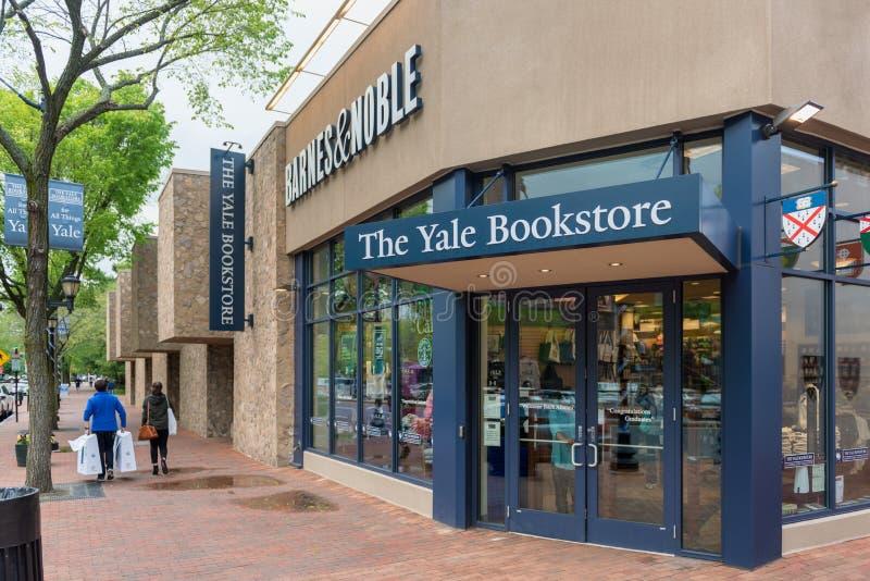Bookstore Ейль в New Haven Коннектикуте стоковая фотография rf