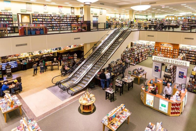 Bookstore Barnes & Noble стоковое изображение rf
