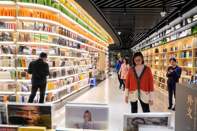 Bookstore ksi??kowego sklepu libraire ksi??kowy sklep zdjęcie royalty free