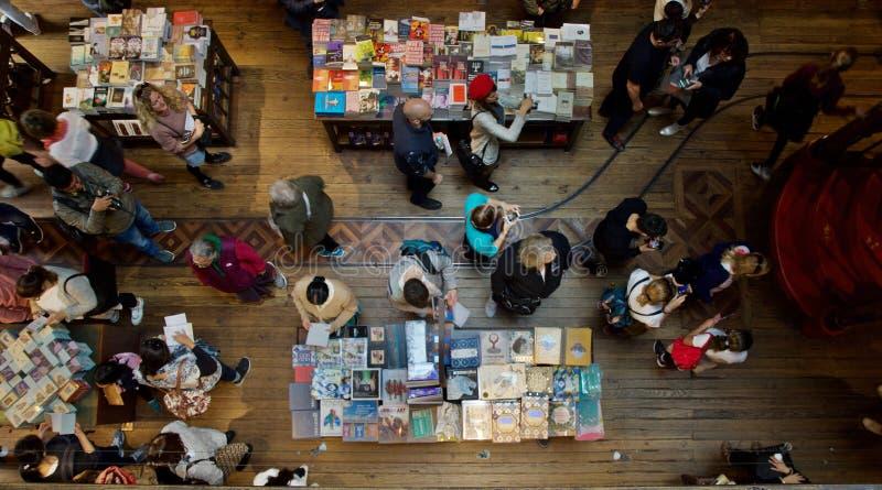 Bookstore Lello Porto Португалия стоковая фотография