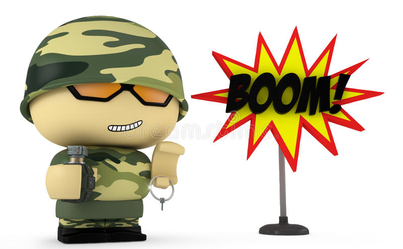 Boom! vector illustratie