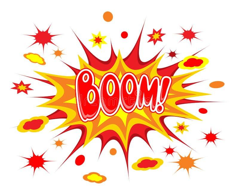 Boom comics icon. Vector illustration vector illustration