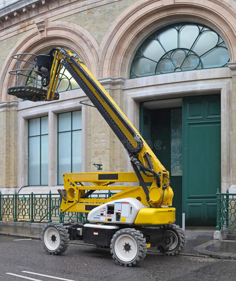 Boom Lift stock images