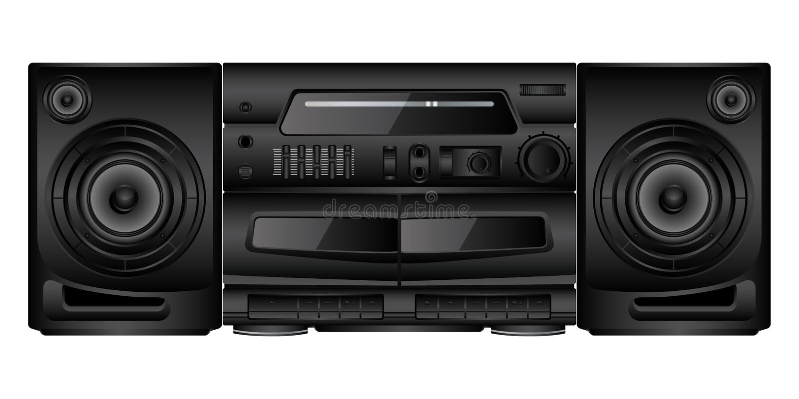 Boombox Royalty Free Stock Photography