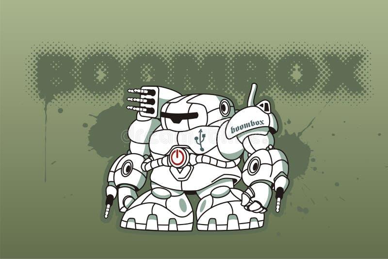 boomboxer ilustracji