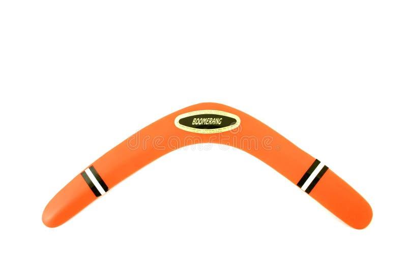 Download Boomerang 1 stock image. Image of orange, play, return - 7715915