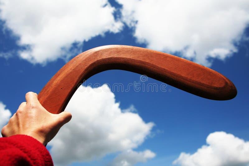 Boomerang photos libres de droits