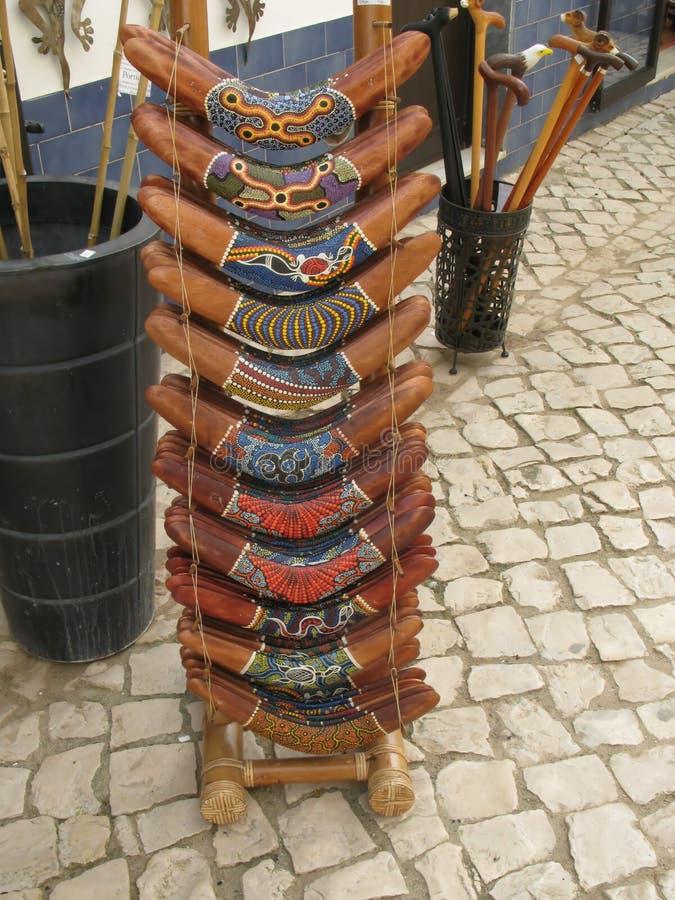 boomerangs la vente images stock