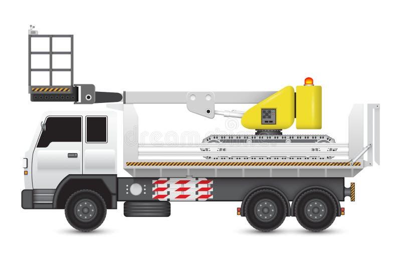 Boomlift_truck stock illustratie