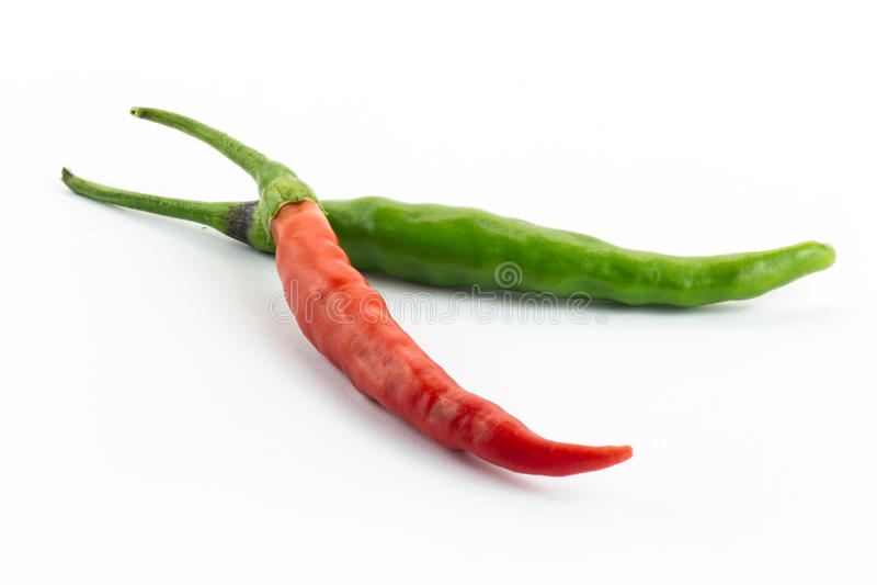 Boomspaanse pepers royalty-vrije stock fotografie