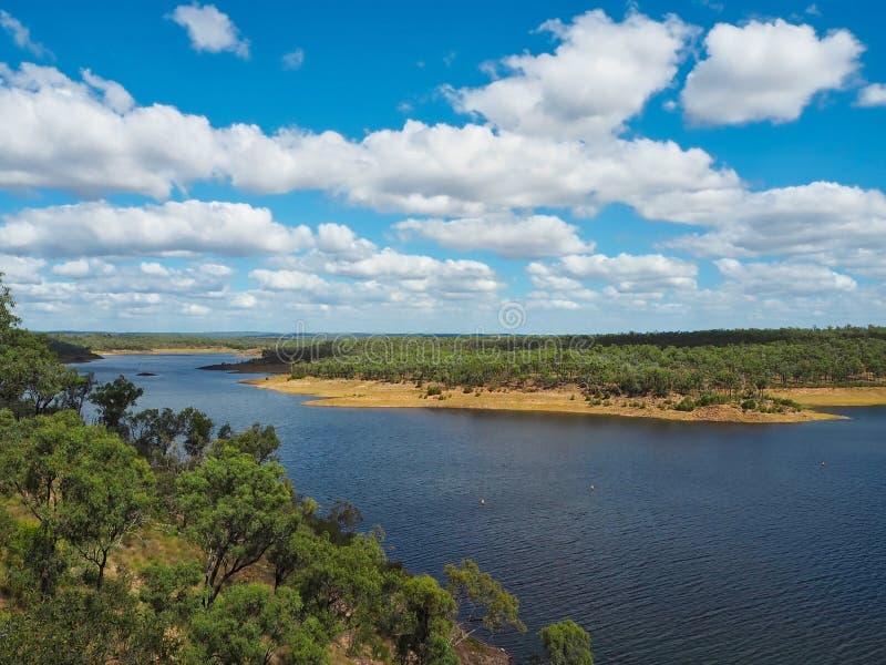 Boondooma Dam in Queensland, Australia stock image
