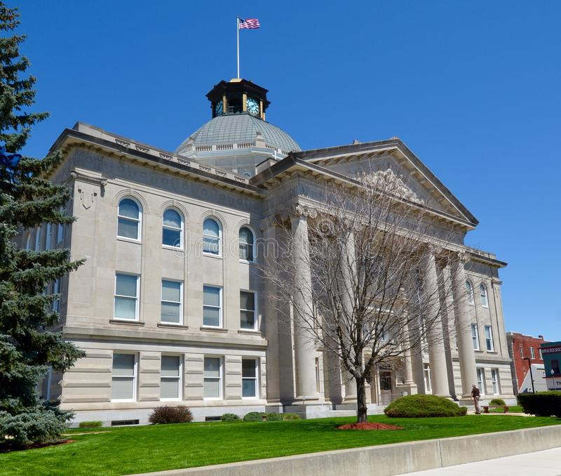 Boone County Courthouse stock image