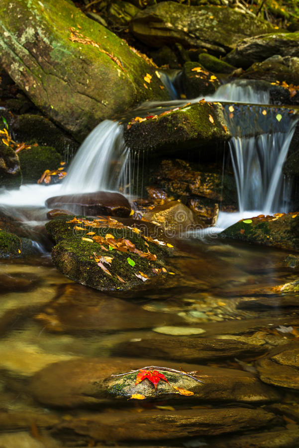 Boone Fork Cascade images stock