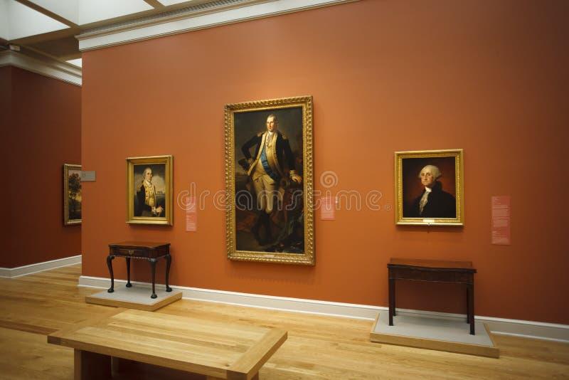 Boone Galerie, Huntington-Museum lizenzfreies stockbild