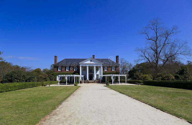 Boone Hall plantacja w górze Przyjemny Południowa Karolina obrazy stock