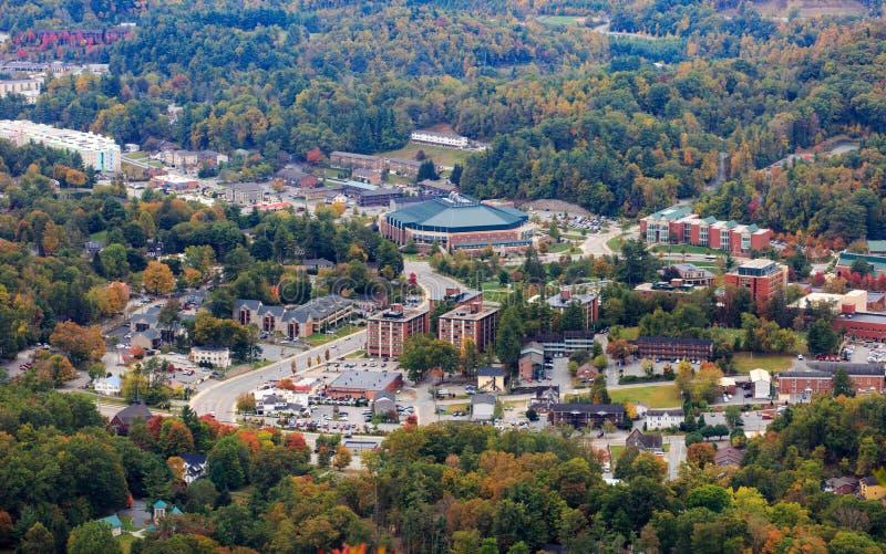 Boone North Carolina Town Black-Berge lizenzfreies stockfoto