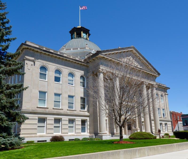 Boone okręgu administracyjnego gmach sądu obraz stock
