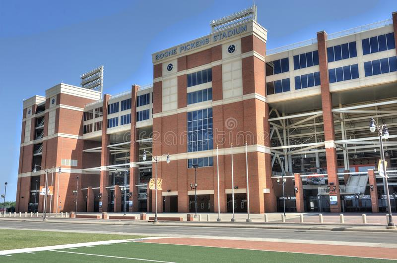 Boone Pickens Stadium in Stillwater Oklahoma royalty free stock photo