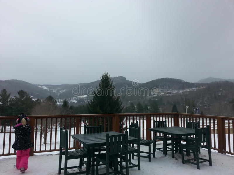 Boone skiing place royalty free stock image