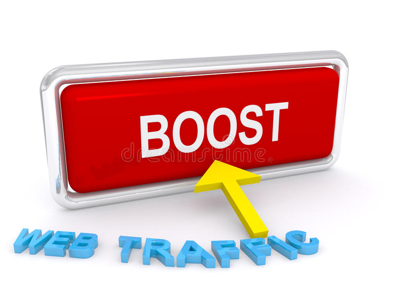 Download Boost web traffic stock illustration. Illustration of interweb - 26301272